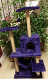 Eggplant Purple PVC type Cat Gym