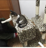 Extreme Tall Leopard Cat Tower Cat Condos - DDhouse Singapore Online Pet Supplies and Pet Products - 3