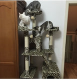 Extreme Tall Leopard Cat Tower Cat Condos - DDhouse Singapore Online Pet Supplies and Pet Products - 4
