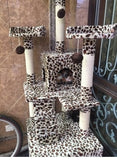 Extreme Tall Leopard Cat Tower Cat Condos - DDhouse Singapore Online Pet Supplies and Pet Products - 6