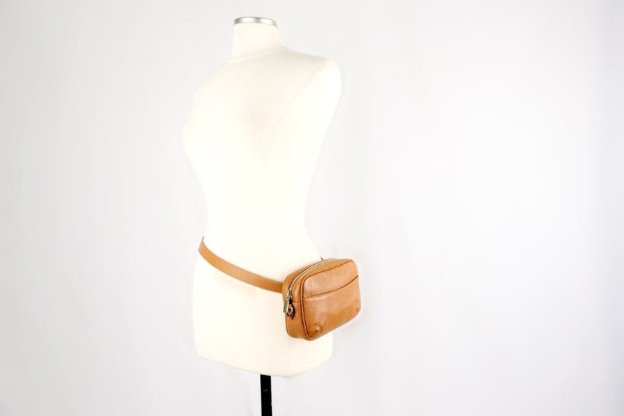 The Urban Crossbody Beltbag - 1969 Woodstock Brown