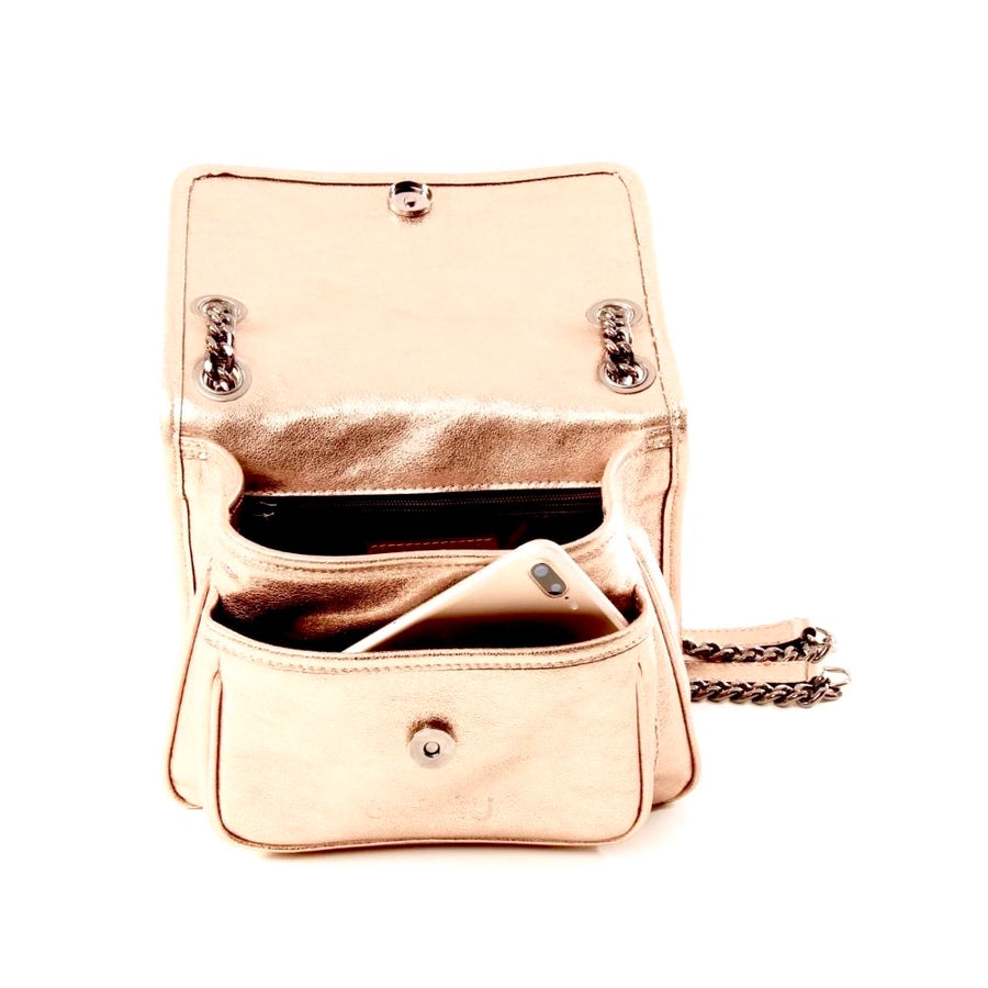 The Bella Handbag - Metallic
