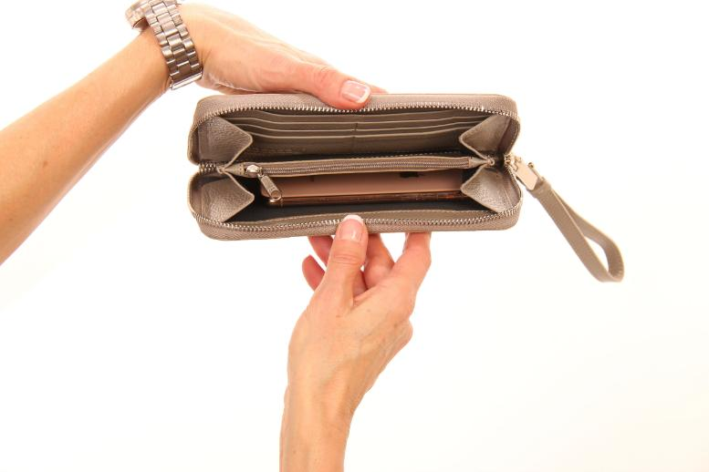 The Urban Wallet Wristlet - Parisienne Taupe