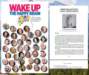 The Happy Brain Book - Paperback - Featuring Dr. Puja Wentworth-Peters