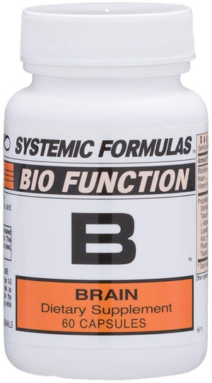 Systemic Formulas B - BRAIN