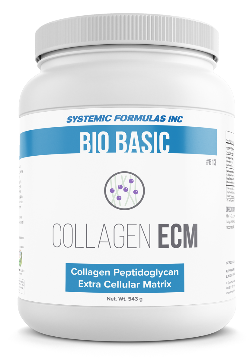 Systemic Formulas COLLAGEN ECM (COLLAGEN EXTRA CELLULAR MATRIX)