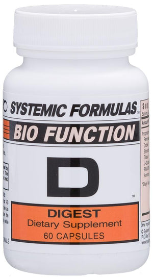 Systemic Formulas D – Digest