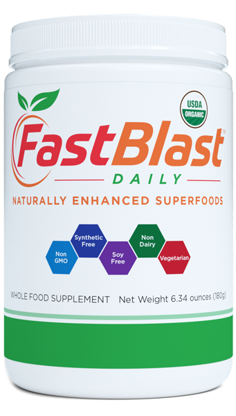 FastBlast Daily - 6.34 Oz Canister