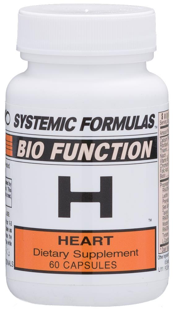 Systemic Formulas H – Heart