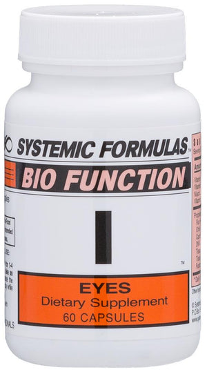 Systemic Formulas I – Eyes