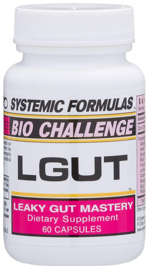 Systemic Formulas LGUT – LEAKY GUT