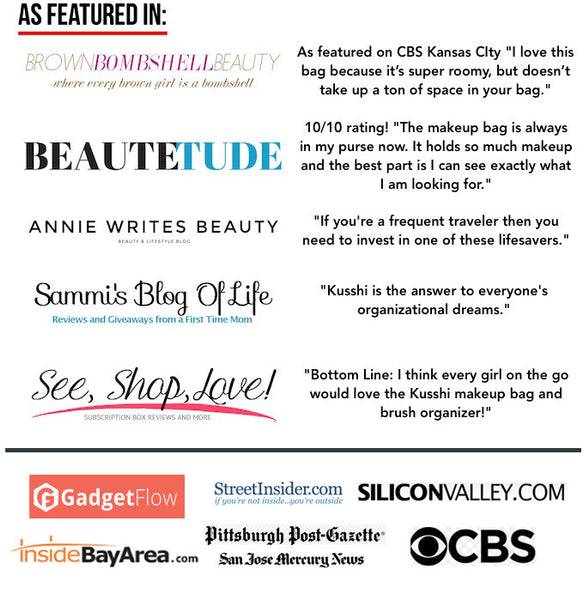Beauty bloggers are loving Kusshi!