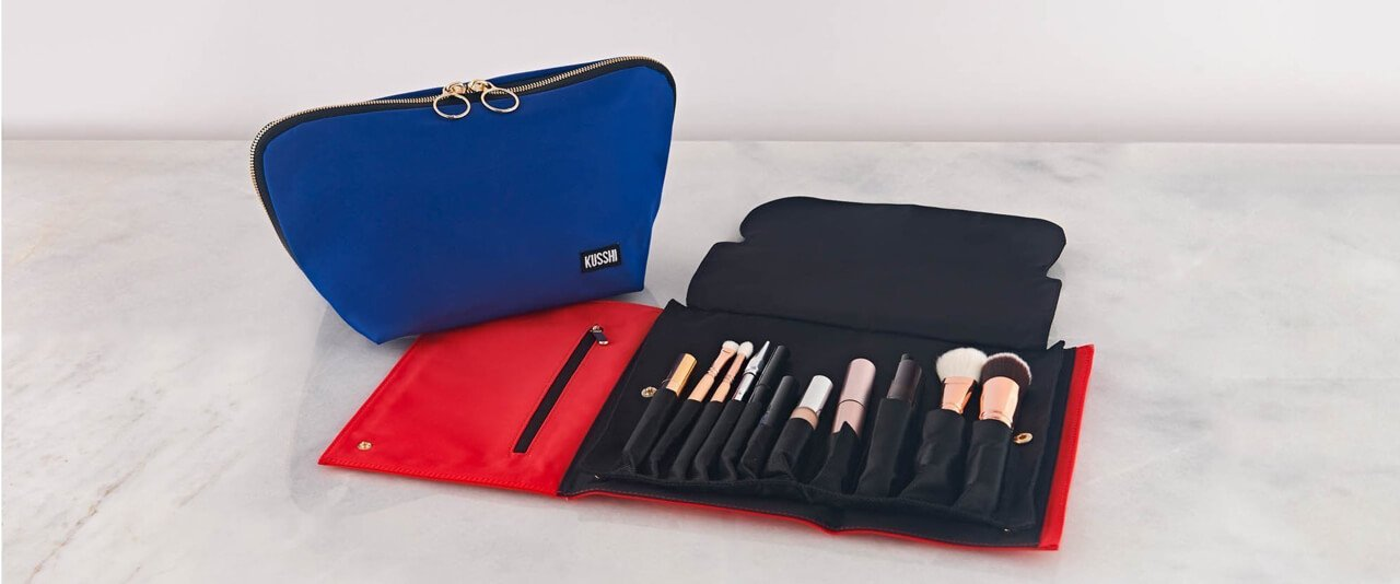 The Best Makeup Bags to Organize Your Cosmetics - Kusshi 7e989cb2232a1