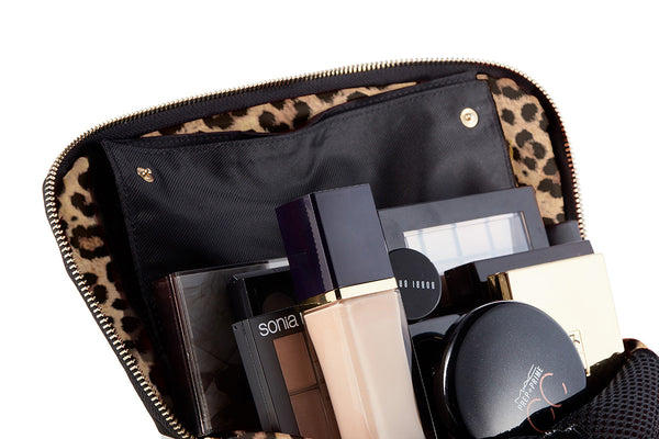 Leopard Makeup Bag