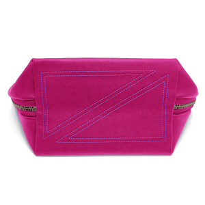 Pink Signature Medium Makeup Bag | KUSSHI
