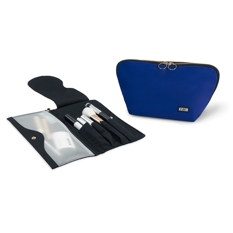 Signature+Royal Blue Fabric with Red Interior+Pocket Organizer