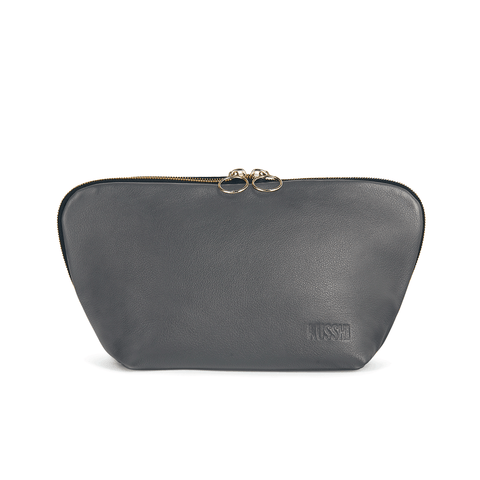 Signature+Luxurious Grey Leather