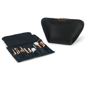 Vacationer Large Leather Makeup Bag | KUSSHI