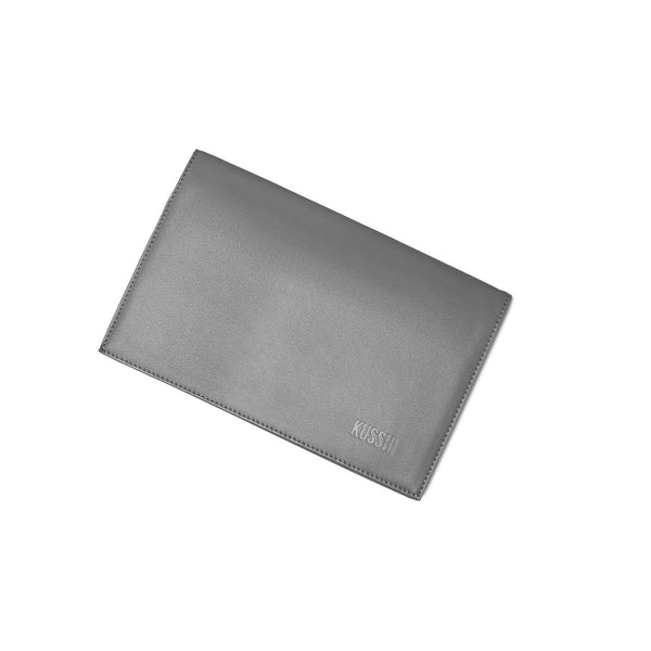 Grey Leather Cover| KUSSHI