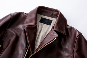 The 9Lives Rider's Jacket - Burgundy
