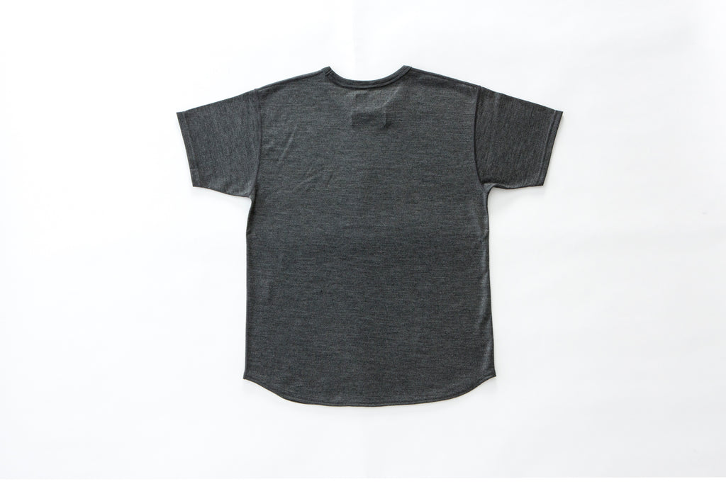 """The Pugilist"" Merino Ripple-Hem T-Shirt"