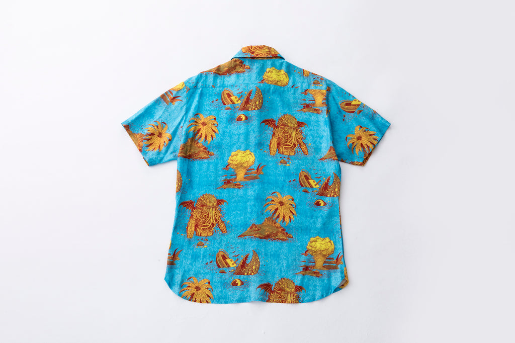 """Ascension Island"" Aloha Shirt (Short Sleeve)"