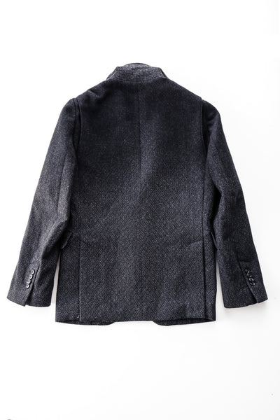 Fade-Out Jacquard Wool Blazer