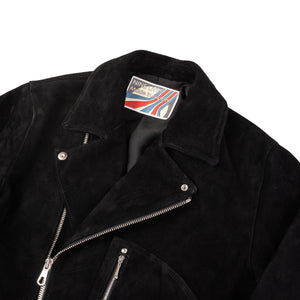 """The Dirty Bird"" Double Rider's Jacket - Black"