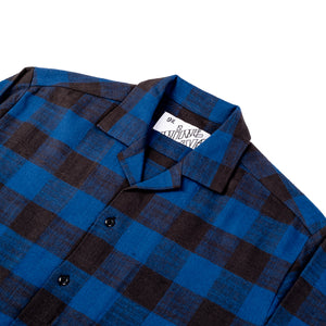 The 405 in Flannel (Long Sleeve) - Blue/Black