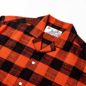 The 405 in Flannel (Long Sleeve) - Red/Black