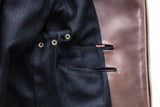 The 9Lives Rider's Jacket (indigo gusset)