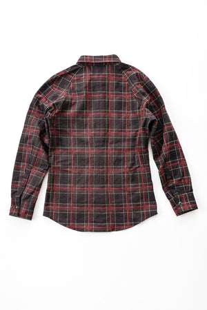 DMT Check Shirt - Red/Brown