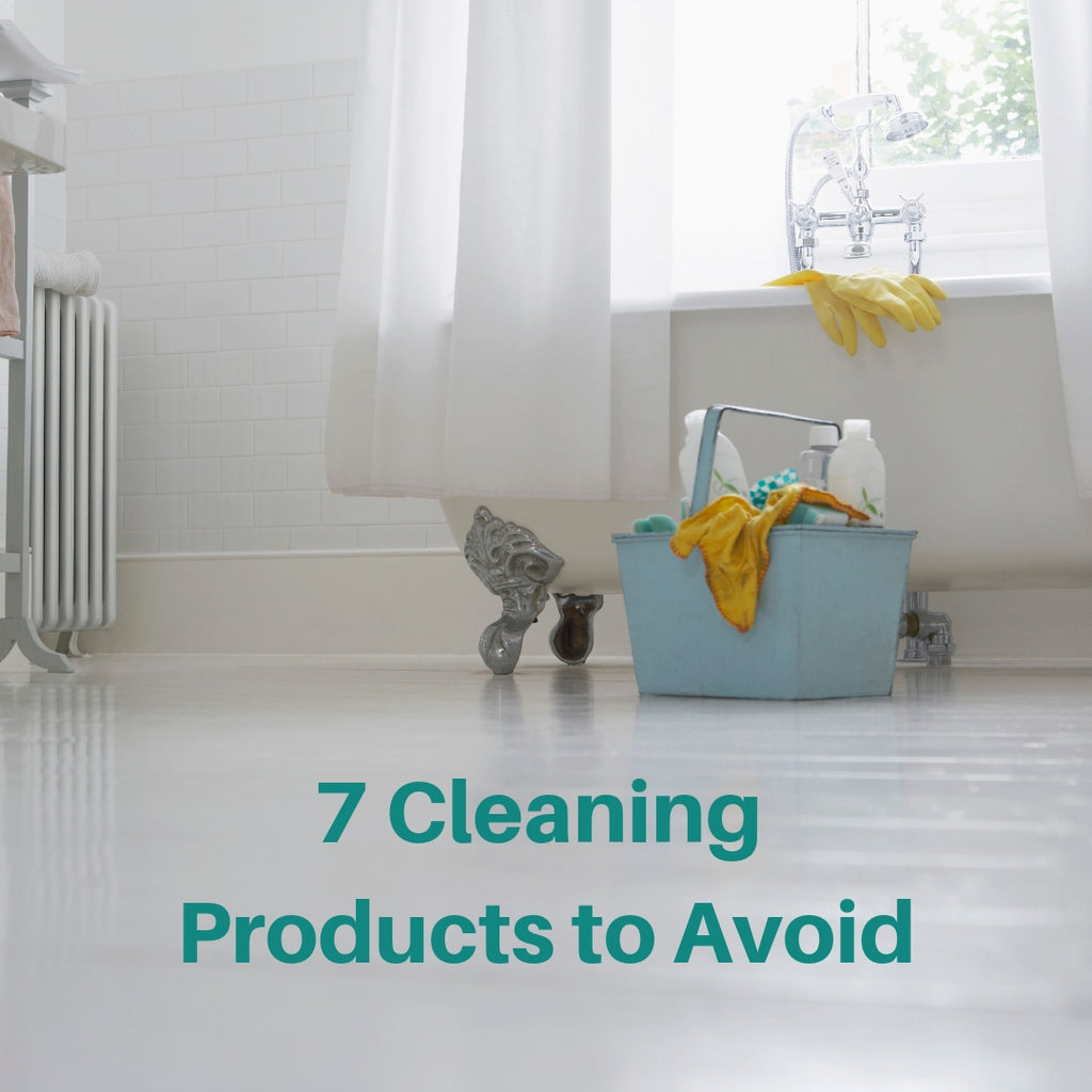 7 Household Cleaners to Avoid & What to Use Instead