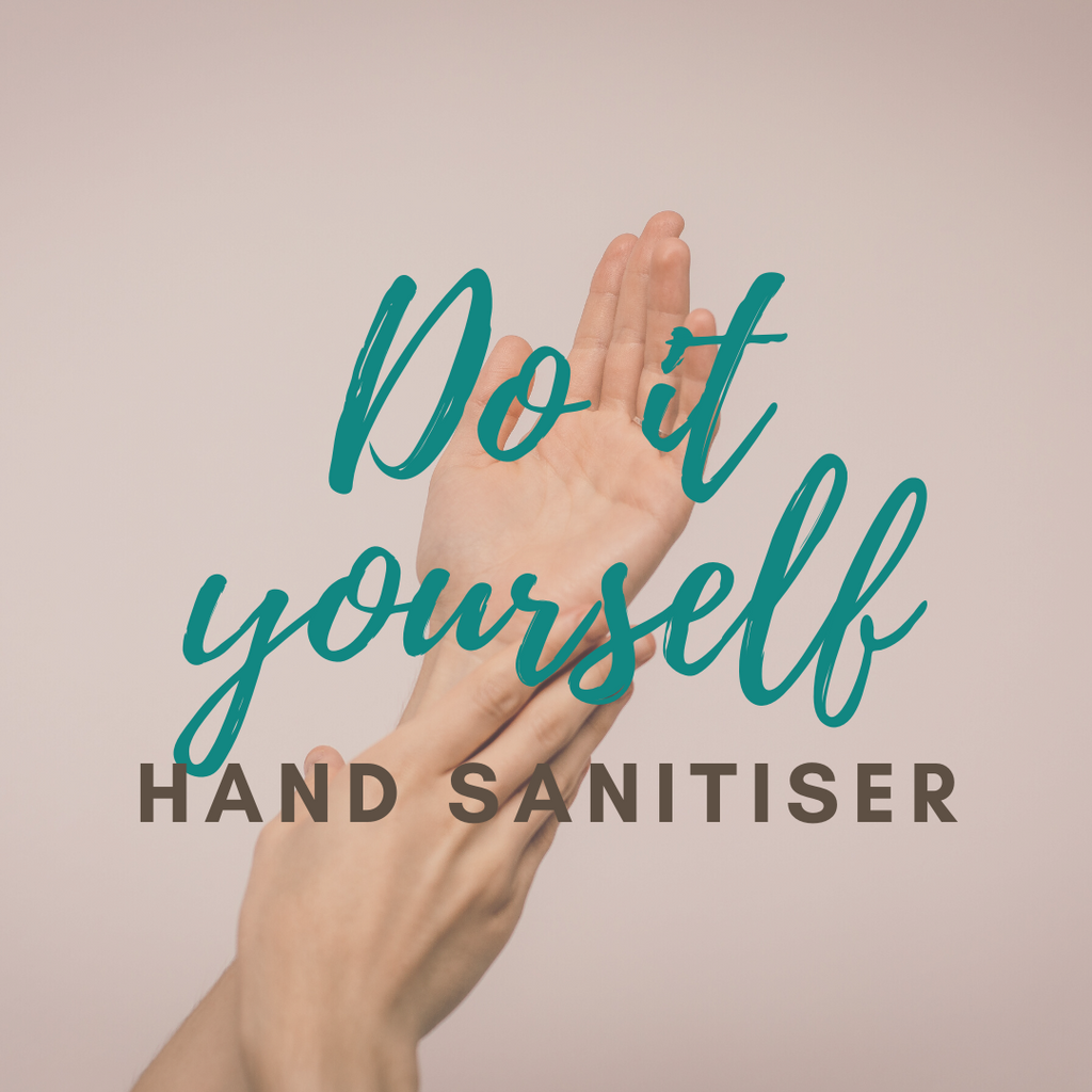 DIY Hand Sanitiser Spray