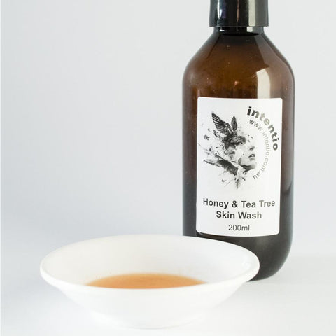 Honey & Tea Tree Skin Wash - intentio