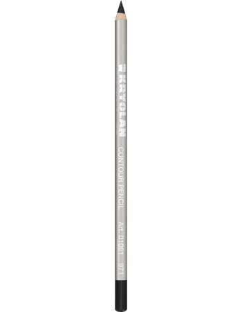 Kryolan CONTOUR PENCIL - Black - 971