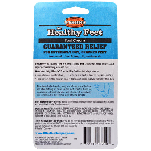 O'Keeffe's For Healthy Feet -Foot Cream - 91g