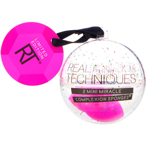 Real Techniques 2 Mini Miracle Complexion Shimmer Sponges