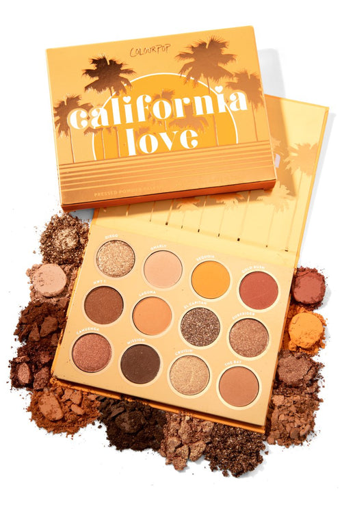 colour pop CALIFORNIA LOVE Shadow Palette
