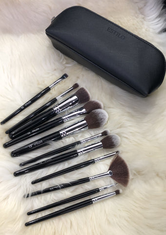 bh Crystal Quartz - 12 Piece Brush Set