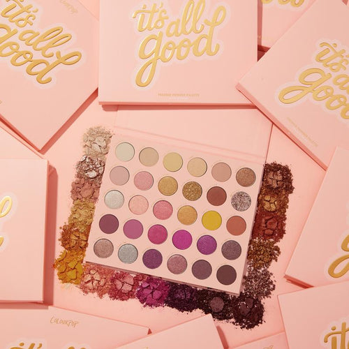 colourpop it's all good shadow palette