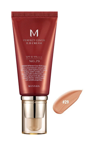 MISSHA PERFECT COVER B.B CREAM 50ML LIGHT  BEIGE NO.21