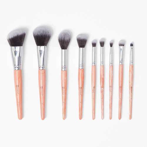 bh Rose Quartz brush set