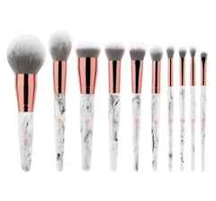 bh Marble Luxe - 10 Piece Brush Set