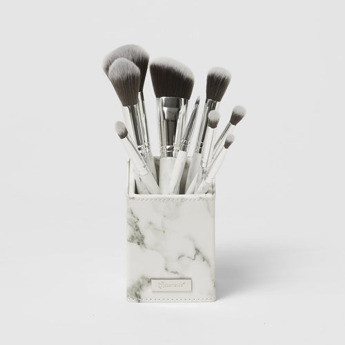 BH White Marble BRUSH SET
