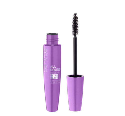 CATRICE ALLROUND MASCARA ULTRA BLACK 010 BLACKEST CARBON BLACK EVER