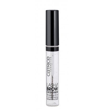 CATRICE LASH BROW DESIGNER SHAPING AND CONDITIONING MASCARA GEL 010 TRANSPARENT