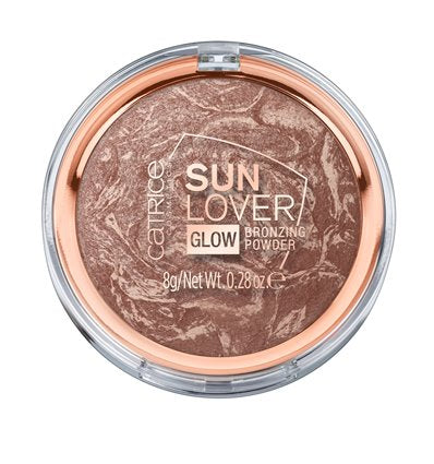 CATRICE SUN LOVER GLOW BRONZING POWDER 010 SUNKISSED BRONZE