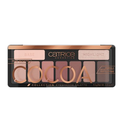 Catrice The Matte Cocoa Collection Eyeshadow Palette 010