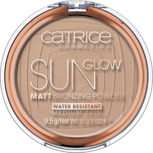 CATRICE SUN GLOW MATT BRONZING POWDER 030 MEDIUM BRONZE